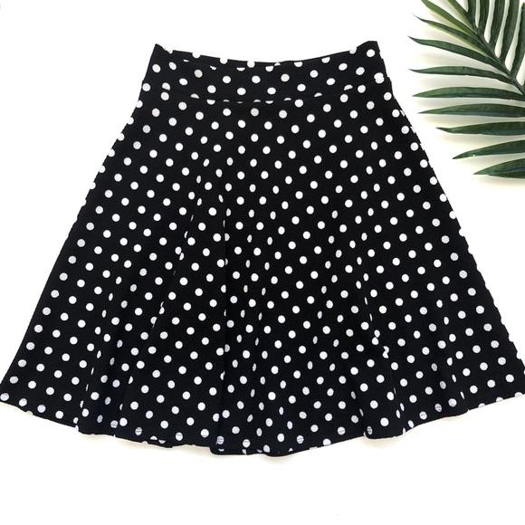 Alice LA Dresses & Skirts - Alice LA knee length polka dot skirt
